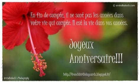 birthday wishes  french page