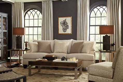 eclectic living room furniture living room neutral and eclectic with sofa