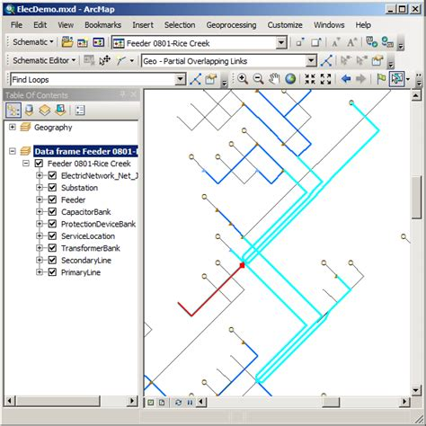 arcgis layout guides exercise 3 editing and layout of schematic diagrams help
