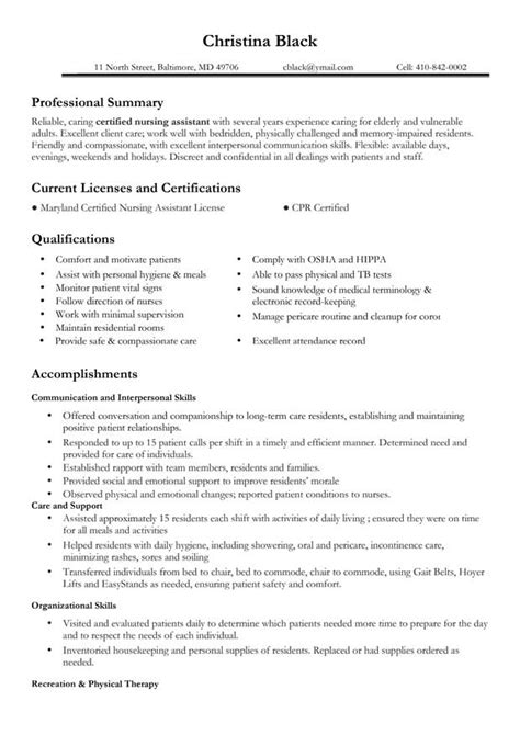 Resume Templates For Certified Assistant 301 Moved Permanently