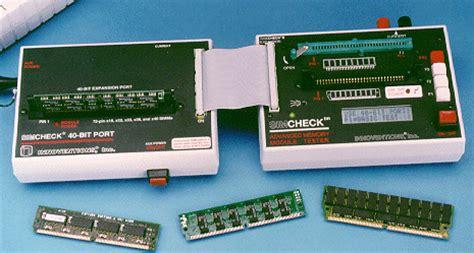 memory ram tester original simcheck memory tester