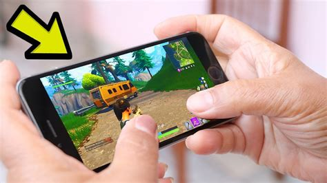 fortnite like on phone you can play fortnite battle royale on your phone