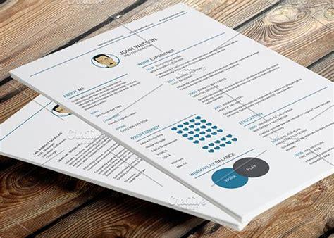 18 flat design resume templates psd exles sles creative template