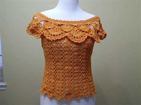 blusas de gancho blusa crochet para verano parte 1 de 2 youtube