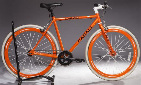 Handcrafted Bicycles - caraci bikes f1 0 fixie alloy bicycle
