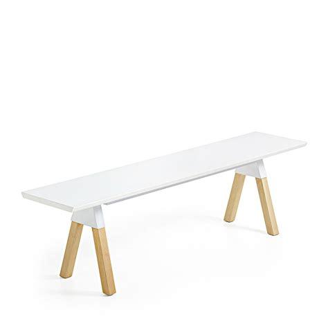 Banc En Cuir Blanc by Banc Cuir Blanc Design Maison Design Wiblia