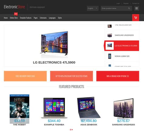 electronics templates for blogger best 10 virtuemart templates 2015 for your ecommerce site
