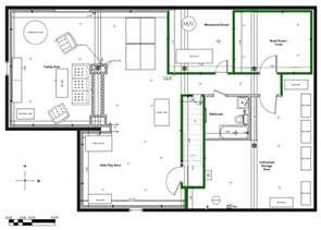 Finished Basement Floor Plans by Basement Design Software 3 Options One Is Free And One