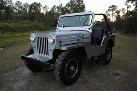 Cj3 Jeep 1954 Jeep Willys Cj 3 High 2 2l Cj3 Custom Clean Must