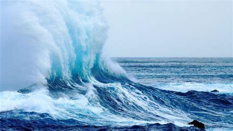 beach waves wallpapers hd desktop  mobile backgrounds