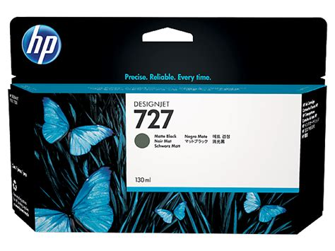 Hp 727 Color Dan Black Original hp 727 130 ml matte black designjet ink cartridge b3p22a