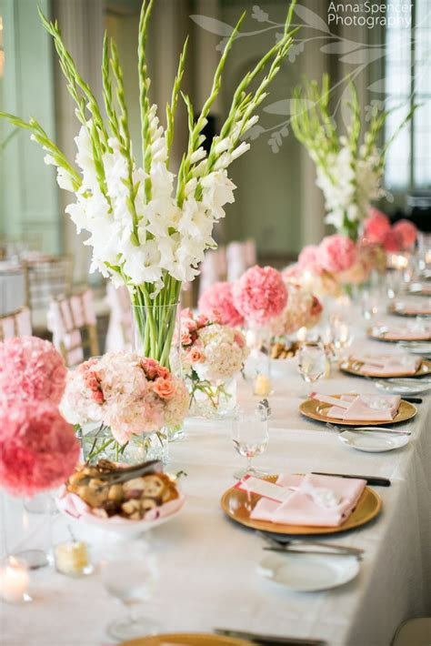 floral wedding table centerpieces best 25 gladiolus centerpiece ideas on