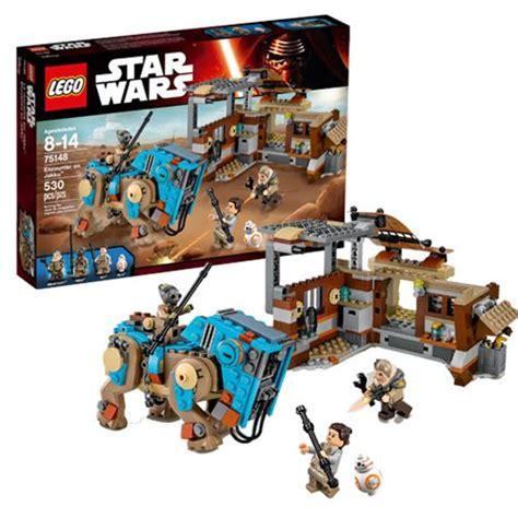 Ready Stock Lego 75148 Wars Encounter On Jakku lego wars 75148 encounter on jakku lego wars construction toys at entertainment
