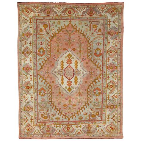 antique oushak carpet turkish rugs handmade rug