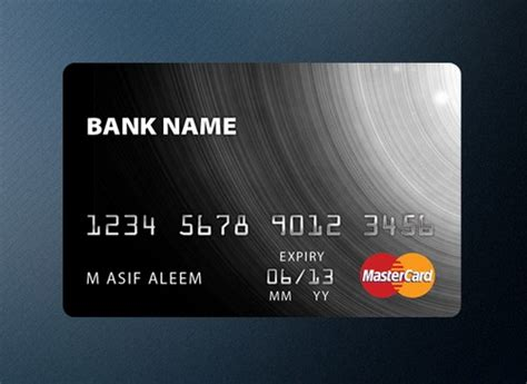Credit Card Black Template 11 Free Credit Card Templates In Psd Ginva