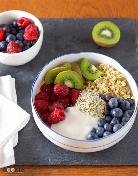 fruit quinoa fruit and quinoa breakfast power bowl gluten free and