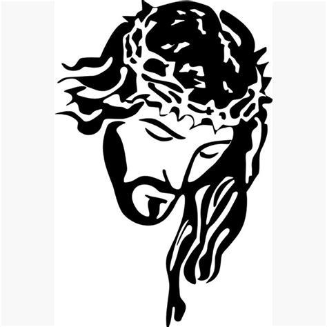 jesus christ portrait with crown picture espejos pared