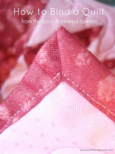 Binding A Quilt Using The Backing by How To Bind A Quilt Tutorial