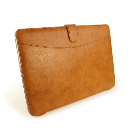 Plaid Leather Macbook Air 13 tuff vegan leather macbook air 13 inch brown