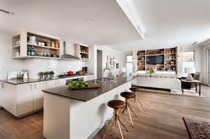 Living Room And Kitchen Open Floor Plan open floor plans a trend for modern living