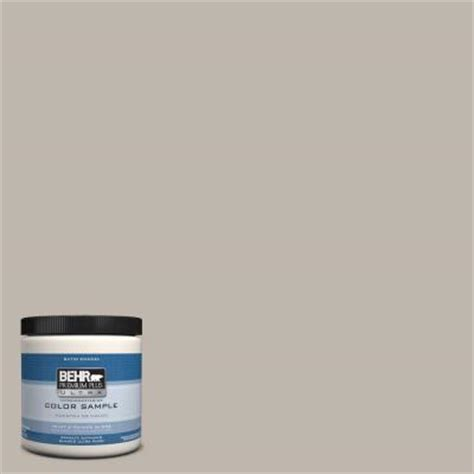 behr premium plus ultra 8 oz hdc ct 21 grey mist interior exterior satin enamel paint sle