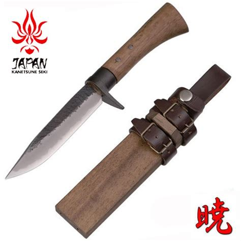 field knives buy the kanetsune akatsuki japanese field knife hunters