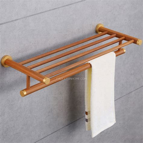 wooden towel bars bathroom wood towel bars for bathrooms cool black metal wooden