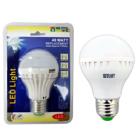 Bright White Led Light Bulbs 4 Energy Saving 40 Watt Bright White Led Light Bulb L Home Office Lighting Ebay