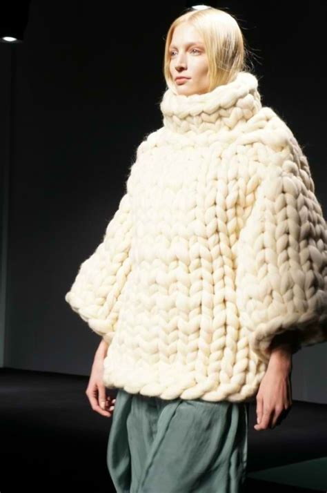 chunky knits chunky knit sweater cool knitted stuff
