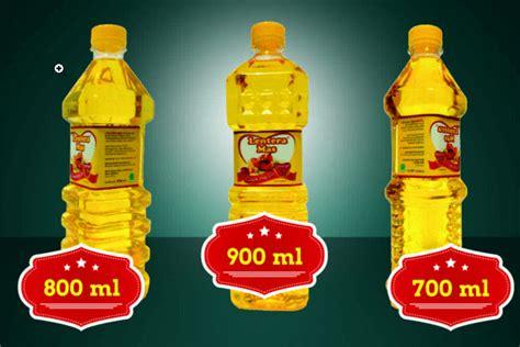 Minyak Goreng Kemasan 5 Liter kemasan minyak goreng botol dikemas