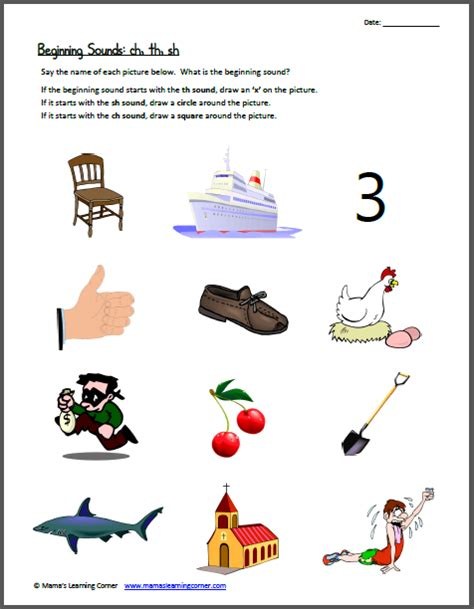is sh a scrabble word sh worksheets for kindergarten beginning digraph sound