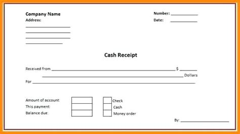 receipt template docs receipt for payment template mindofamillennial me
