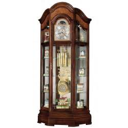 Curio Cabinet With Grandfather Clock Howard Miller Majestic Curio Grandfather Clock Curio