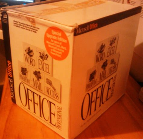 Microsoft Office 4 Software Early 1990s Style Andrew S Inner Sanctum