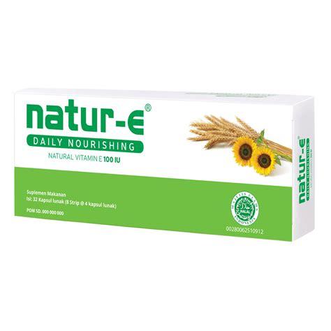 Krim Wajah Natur E natur e 100 iu 32s small pack gogobli