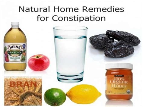 home remedies for constipation and lazy bowel