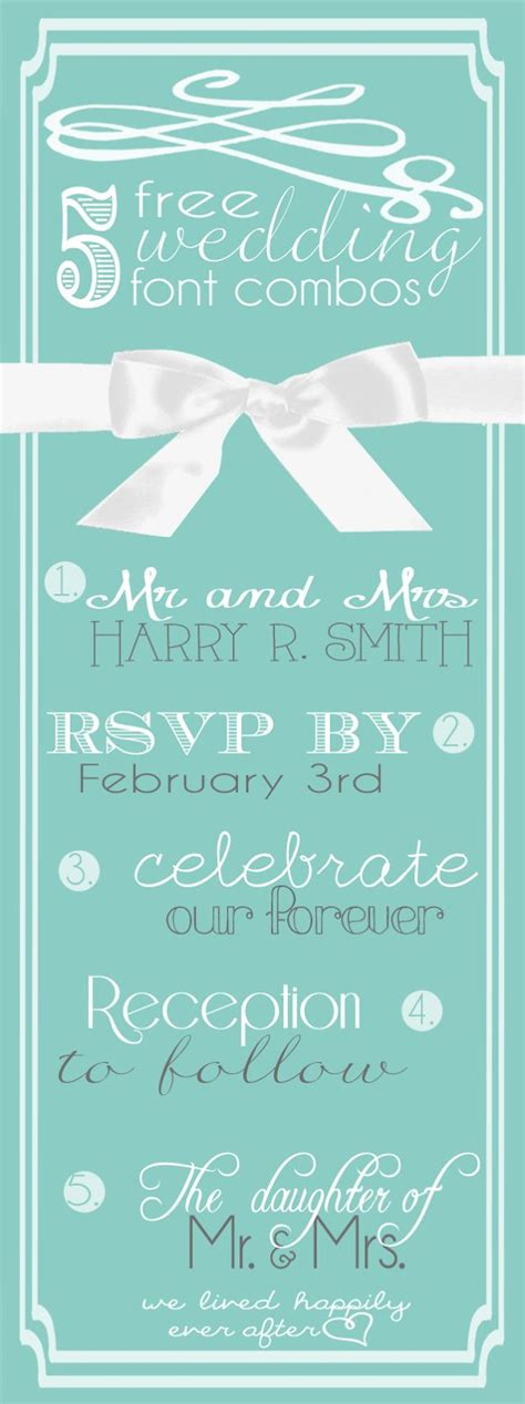 Wedding Font Combos by 67 Best Images About Wedding Fonts On Free