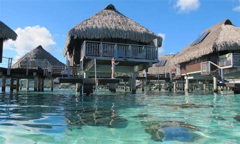 moorea overwater bungalow moorea lagoon resort spa overwater bungalow