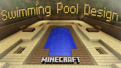 Minecraft: How To Make A Cool Swimming Pool Design   YouTube