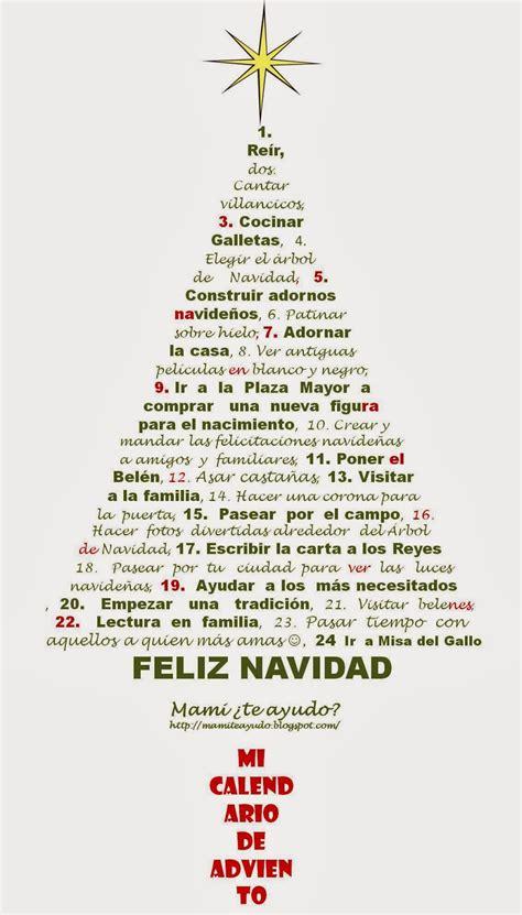 Q Es Calendario De Adviento Mami 191 Te Ayudo Mi Calendario De Adviento