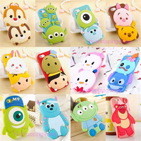 Softcase 3d Disney new 3d disney silicone rubber soft cover for iphone 6 plus 5s ebay