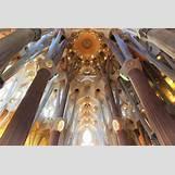 Gaudi Sagrada Familia Ceiling | 1200 x 800 jpeg 169kB