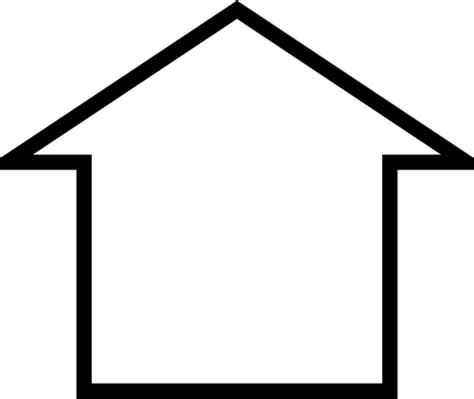 Vektor Bild von Monopol Haussymbol   Public Domain Vektoren
