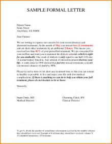Official Letter Writing Official Letter Writing Sles Best Letter Sle