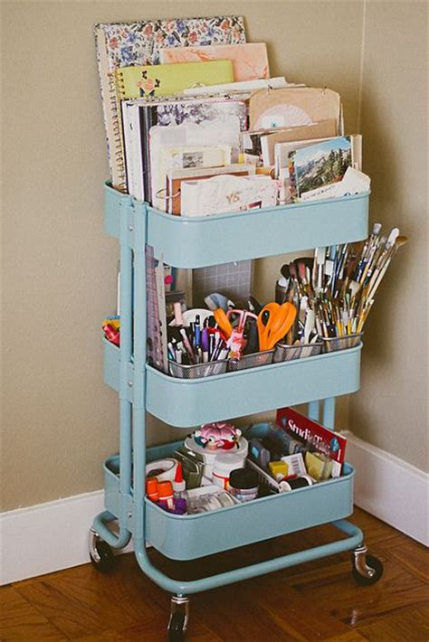 raskog cart ideas 25 best ideas about desk storage on pinterest desk space art desk and ladder desk