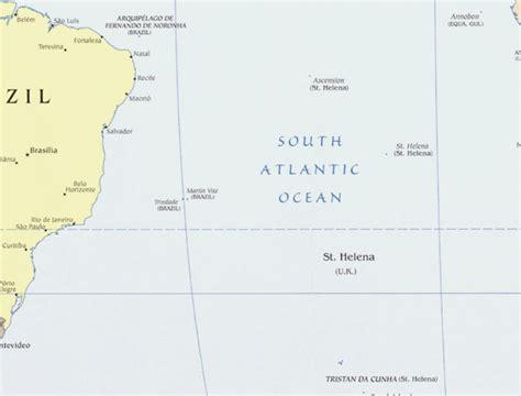 st helena on world map helena map map of helena