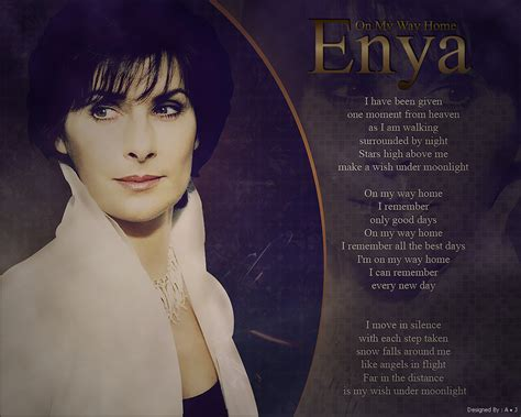 enya on my way home by alidesignr on deviantart