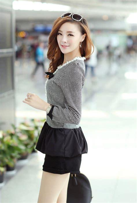 Baju Panjang Korea baju wanita korea lengan panjang toko baju wanita murah goldendragonshop