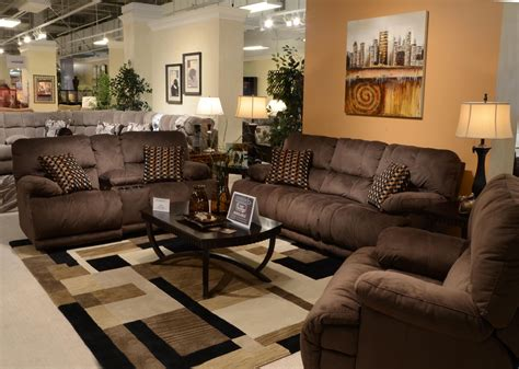 espresso living room furniture riley coffee reclining living room set from catnapper
