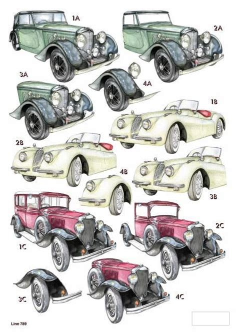 decoupage car 17 best images about papers 3d vehicles on
